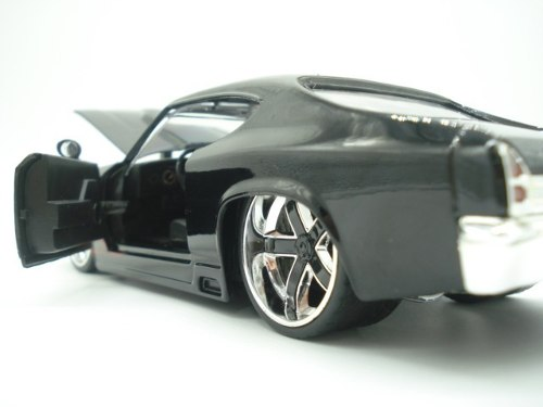 Carrinho Metal Chevy Chevelle Ss 1969 Muscle Car Big Time  - José Geraldo Almeida Marques
