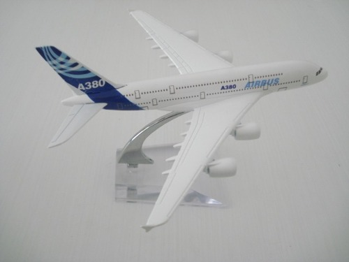Airbus A380 Avião Miniatura  - PRESENTEPRESENTE