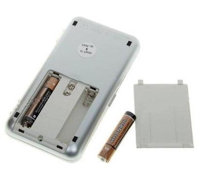Mini Balança Digital De Precisão 0,1 - 500gr Brinde Pilhas  - PRESENTEPRESENTE