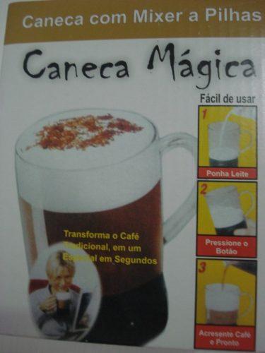 Caneca Magica Mixer A Pilhas 2 X Aa  - PRESENTEPRESENTE