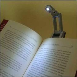 Luminaria Led Com Clip Para Leitura Livro Revista Lanterna  - José Geraldo Almeida Marques