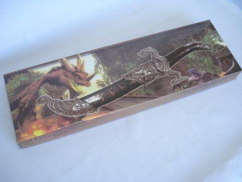 Espada Adaga Dragão Rei 45cm Fl5088  - PRESENTEPRESENTE