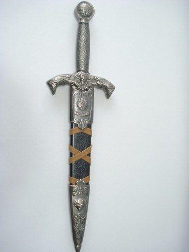 Espada Adaga Guerreiro Rei Arthur Kcc863 Aço Inox  - PRESENTEPRESENTE
