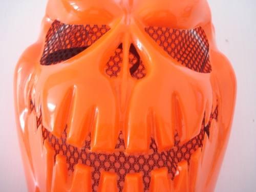 Mascara Haloween Red Skul Abobora  - PRESENTEPRESENTE