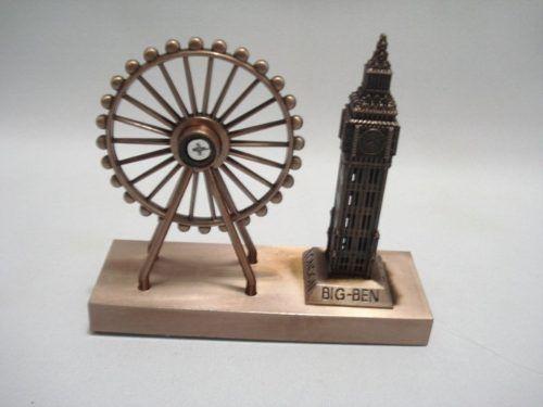 Miniatura Roda Gigante Big Ben Londres Enfeite Luxo  - José Geraldo Almeida Marques