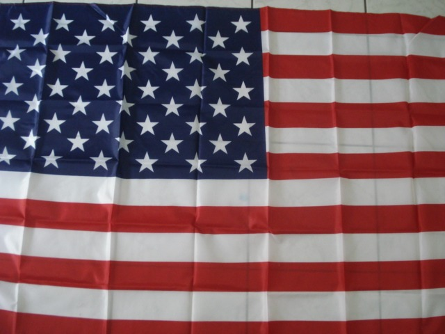 Bandeira Estados Unidos Eua 1,5mx90cm Festas Decoração  - José Geraldo Almeida Marques