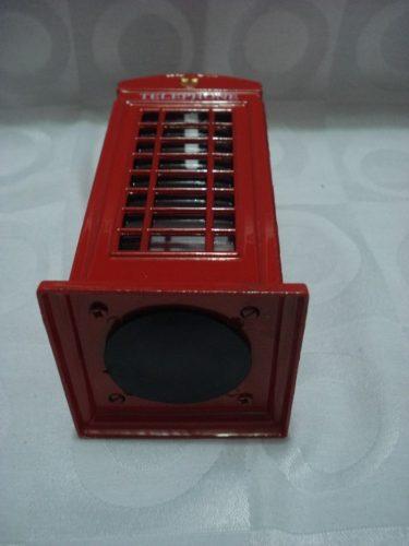 Cofre Cabine Telefone Londres Metal Retro/vintage  - PRESENTEPRESENTE