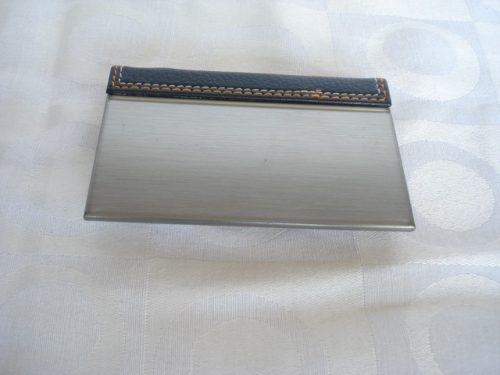 Porta Cartão De Visitas Ford Inox   - PRESENTEPRESENTE
