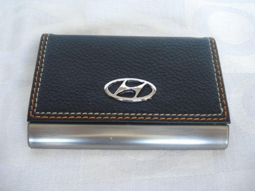 Porta Cartão De Visitas Hyundai Inox   - PRESENTEPRESENTE