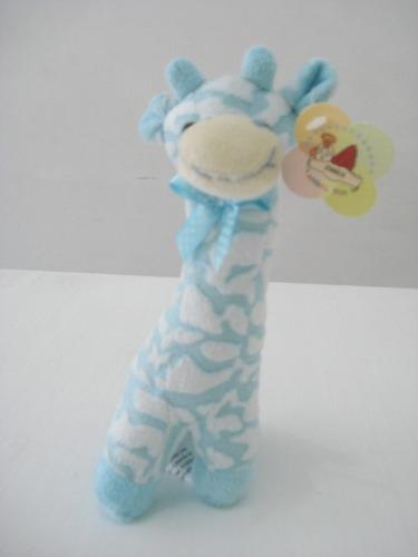 Chocalho Para Bebê Girafa De Pelucia  - PRESENTEPRESENTE