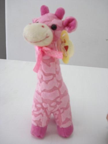 Chocalho Para Bebê Girafa De Pelucia  - Presente Presente