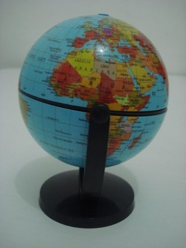 Globo Terrestre Gira Planisferio Escolar Mapa Atlas Planeta  - José Geraldo Almeida Marques