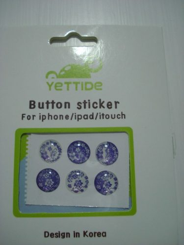 Adesivo Botão Iniciar Iphone Ipad Ipod  - Presente Presente