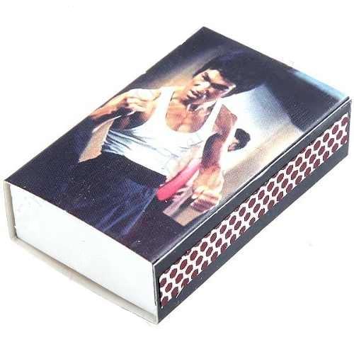 Conjunto Bruce Lee Coleção 10 Caixas De Fosforos  - PRESENTEPRESENTE