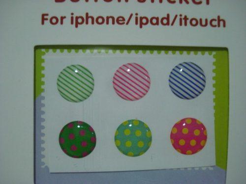 Adesivo Botão Iniciar Iphone Ipad Ipod  - PRESENTEPRESENTE