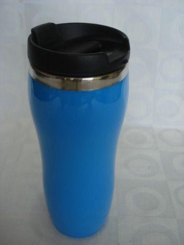 Caneca Inox Azul Com Tampa  - José Geraldo Almeida Marques