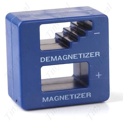 Cubo Desmagnetizador De Ferramentas 2 Em 1  - PRESENTEPRESENTE