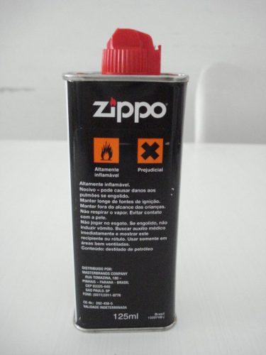 Fluido Isqueiro Zippo 125ml Original  - José Geraldo Almeida Marques