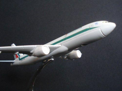 Avião Alitalia Jato Miniatura  - PRESENTEPRESENTE