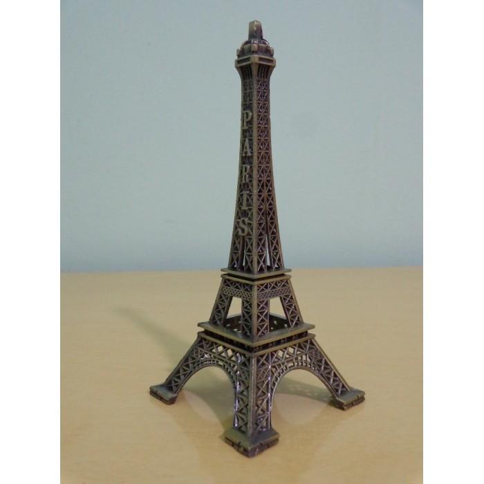 Torre Eiffel Miniatura 25cm Paris Champs De Mars  - José Geraldo Almeida Marques