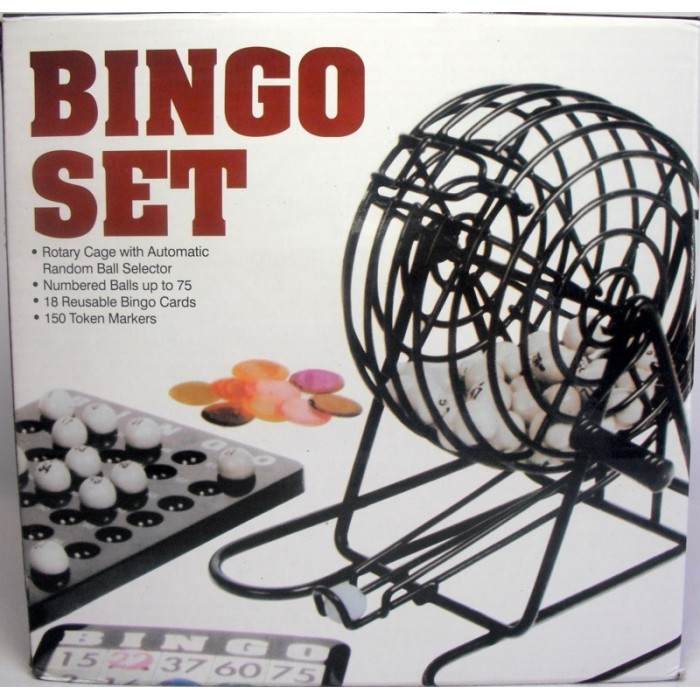 Jogo Bingo Conjunto Completo Jogos Baralho Domino Jogos  - José Geraldo Almeida Marques