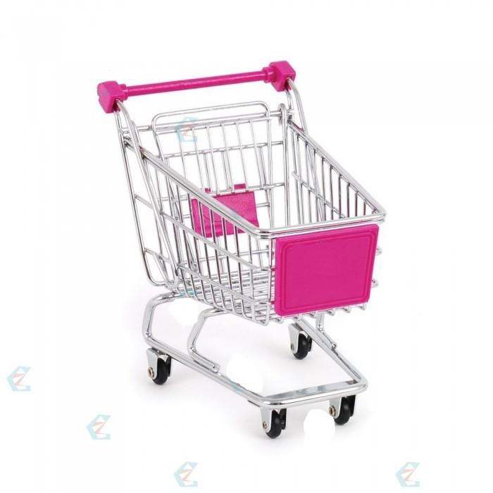 Carrinho Supermercado Organizador Mesa Porta Canetas  - José Geraldo Almeida Marques