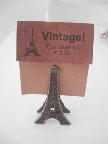 Clipe Prendedor De Papel Torre Eiffel  - PRESENTEPRESENTE