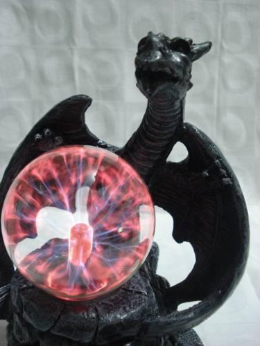 Globo De Plasma Dragão Plasma Sphere Bola De Cristal  - PRESENTEPRESENTE