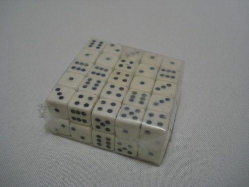 Conjunto Dados Rpg 10mm 50 Unidades  - PRESENTEPRESENTE