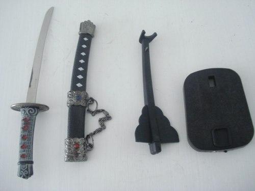 Espada Samurai Katana Sabre Pequena  - José Geraldo Almeida Marques