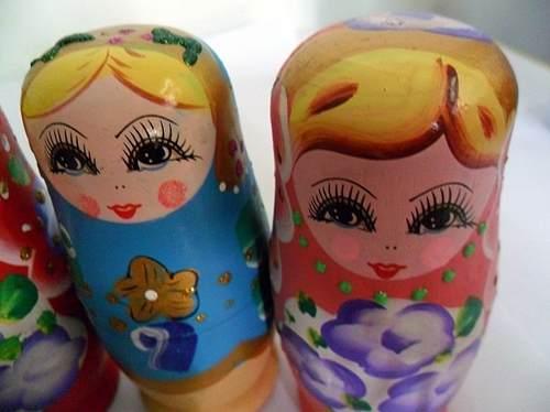 Boneca Matryoshka Russa 5 Peças  - José Geraldo Almeida Marques
