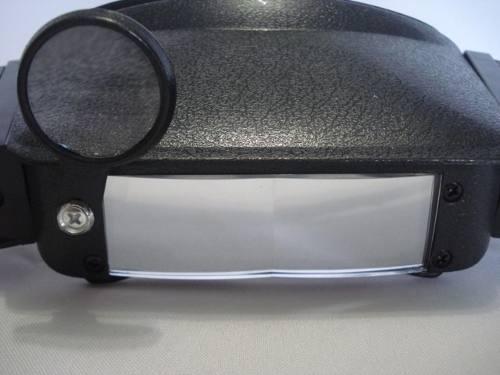 acb17aa674e28 Lupa Óculos Joalheiro Aumento 3 Lentes Luz Profissional - PRESENTEPRESENTE