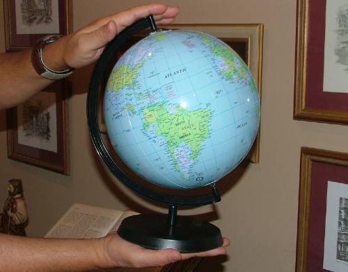 Globo Terrestre Inflável Planisfério Escolar Geografia  - José Geraldo Almeida Marques