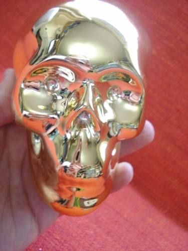 Cofre Cranio Caveira Espelhado  - José Geraldo Almeida Marques