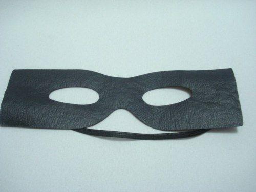 Máscara Zorro Fantasia Bandido Cosplay Festas  - José Geraldo Almeida Marques