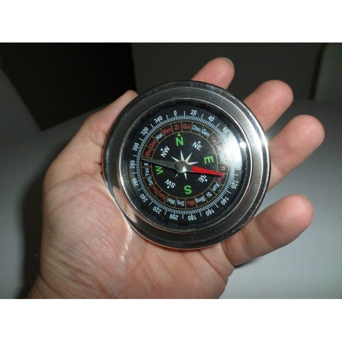 Bussola De Metal Grande 7cm  - PRESENTEPRESENTE