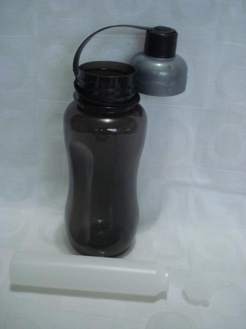 Garrafa Água Squeeze Refrigerada Plástica 600ml Academia  - PRESENTEPRESENTE