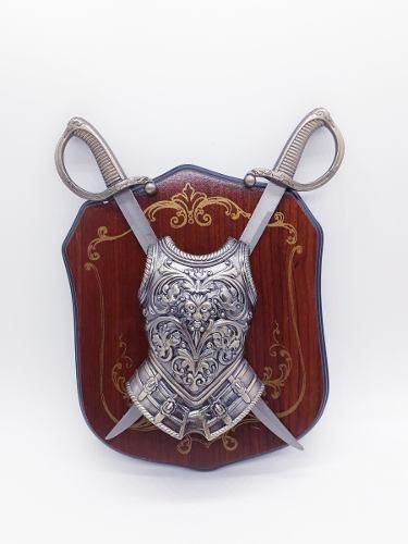 Enfeite Decorativo Medieval Brasão Retro Vintage Coleção 110  - PRESENTEPRESENTE
