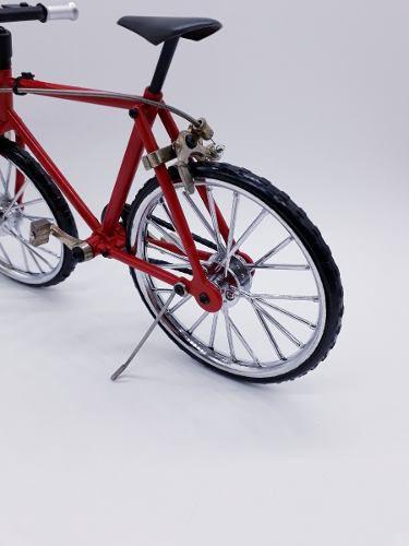Miniatura Bicicleta Track Moutain Bike Mini Vermelho  - PRESENTEPRESENTE