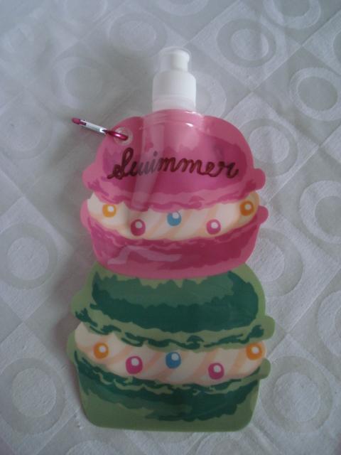 Garrafa De Água Dobrável Bolo Cupcake Flexível Reutilizável  - José Geraldo Almeida Marques