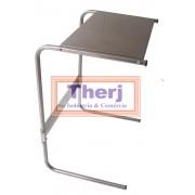Mesa para notebook em aço inoxidável