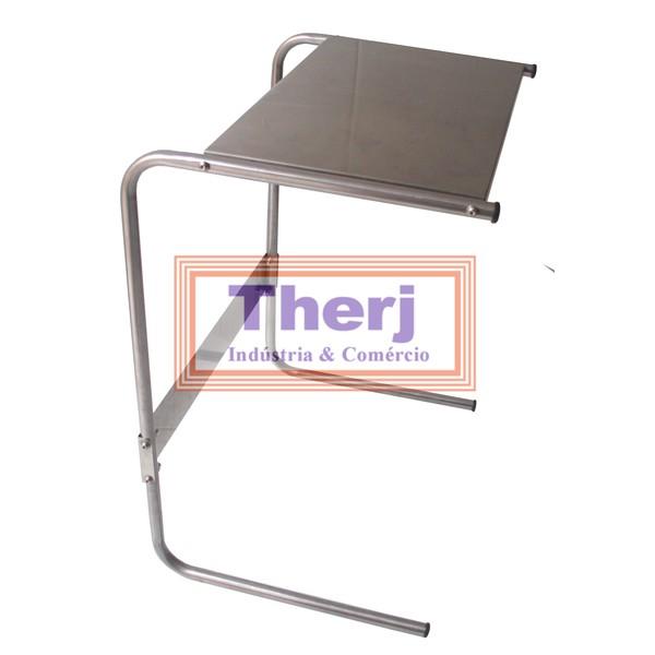 Mesa para notebook em aço inoxidável  - Fábrica de Carrinhos em Aço Inoxidável