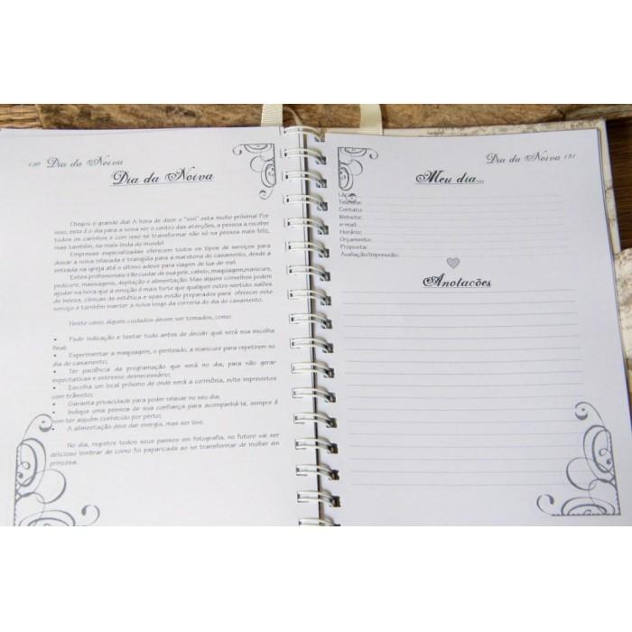 Agenda da noiva - guia para Casamento - Timeless