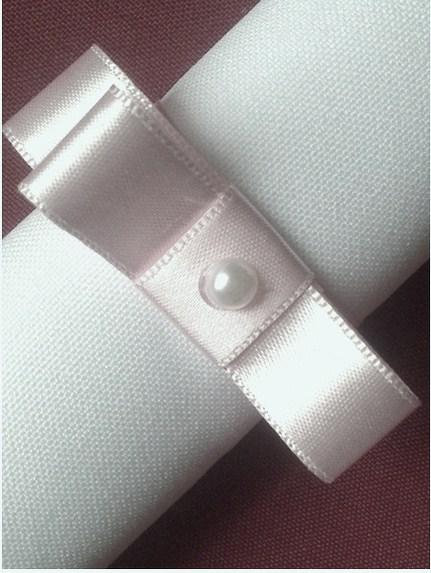 Porta-Guardanapo para casamento - Laço Chanel