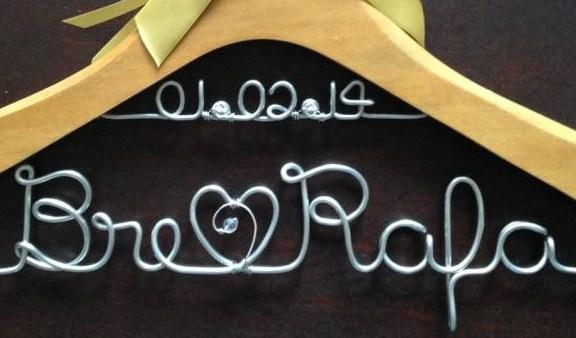 Cabide da noiva - Amor Eterno
