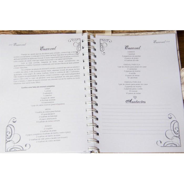 Kit de Agenda da Noiva e Pasta da Noiva Sweet