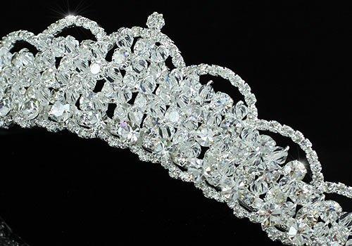 Coroa para noiva - casamento - Reluzente Swaroviski