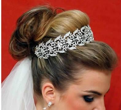 Tiara para noiva - casamento - Única