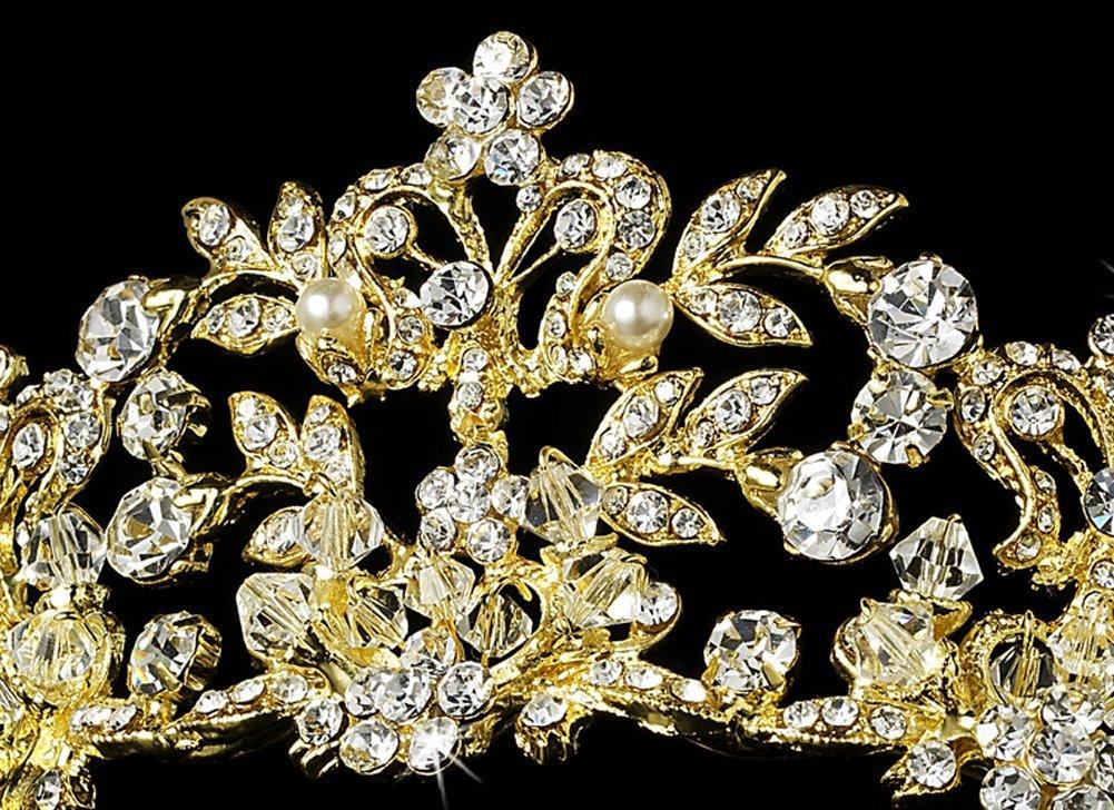 Coroa para noiva Bárbara- casamento - Cristais Swarovski
