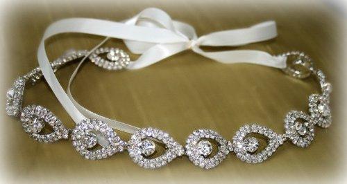 Headband para noiva Realce